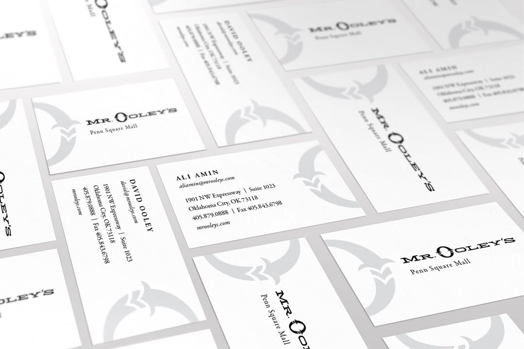 Mr. Ooley's Business Card Design by Liquid Media