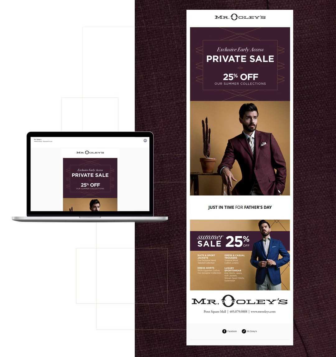 Mr. Ooley's Email Campaign by Liquid Media