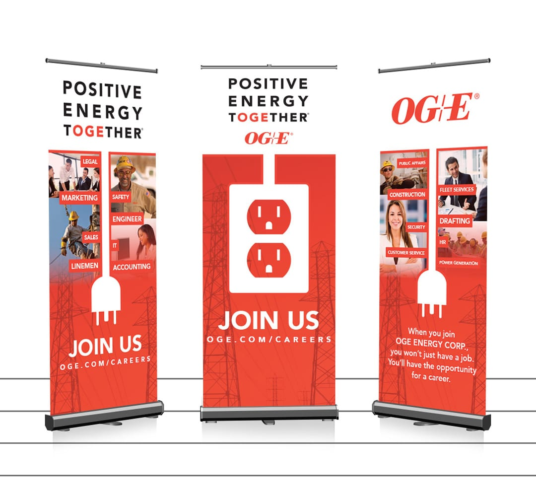 OGE Energy Rollup Banner Design by Liquid Media