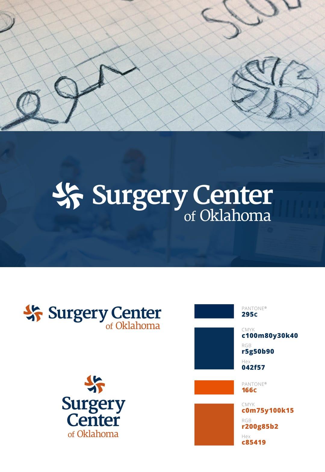 Surgery Center of Oklahoma Logo Design by Liquid Media