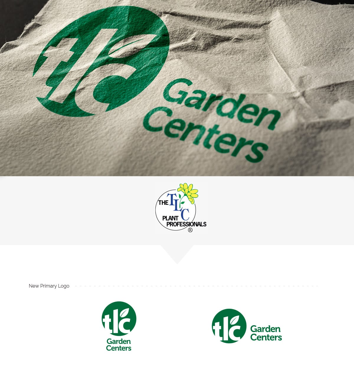 TLC Garden Centers Logo Design by Liquid Media