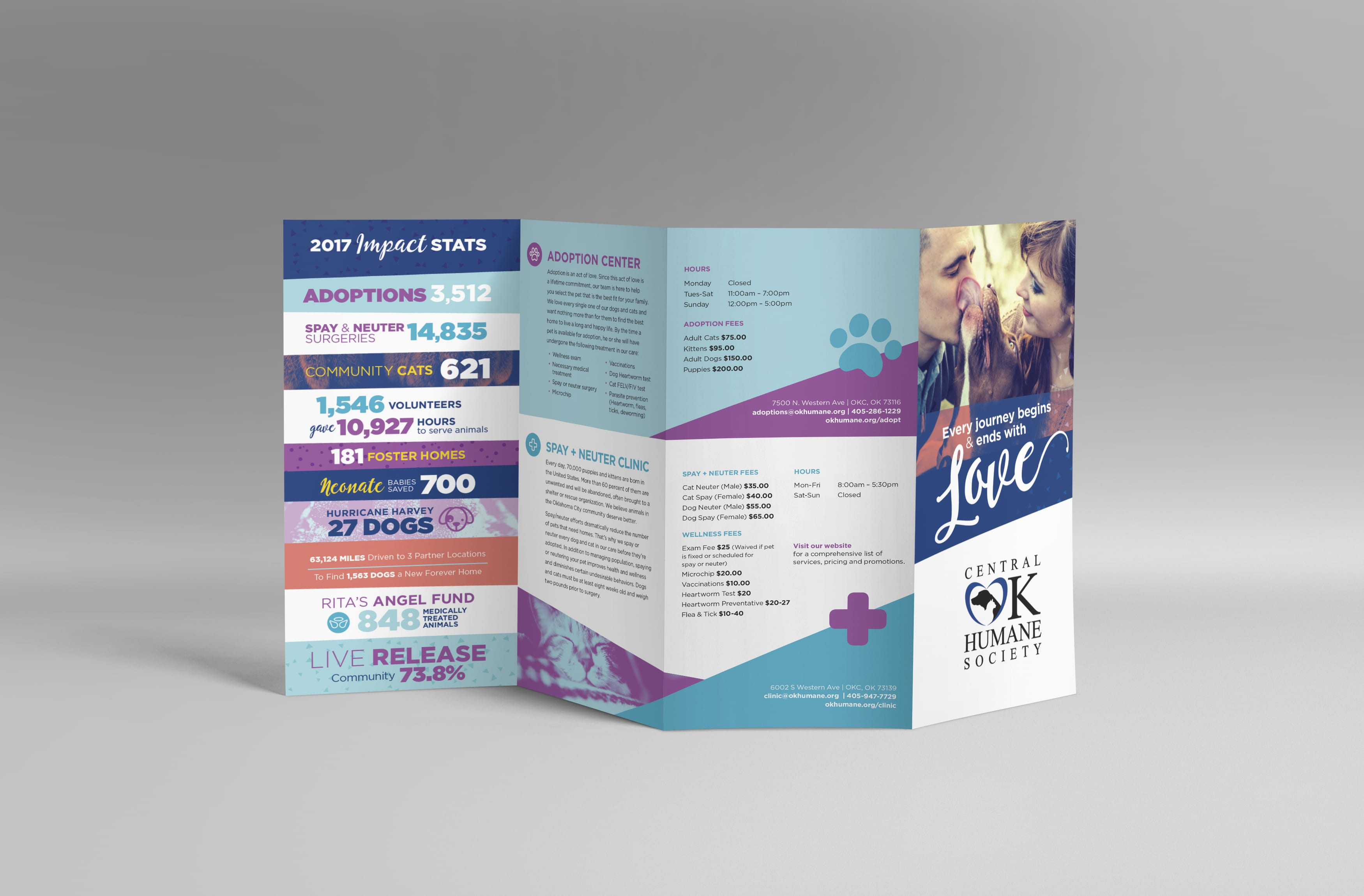 Oklahoma Humane Society | Liquid Media Graphic Design