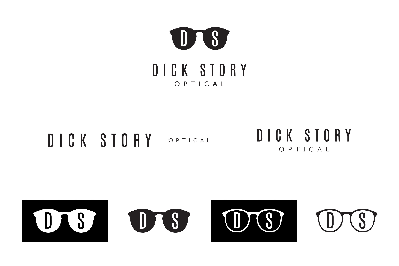 Dick Story Optical Logo Design by Liquid Media