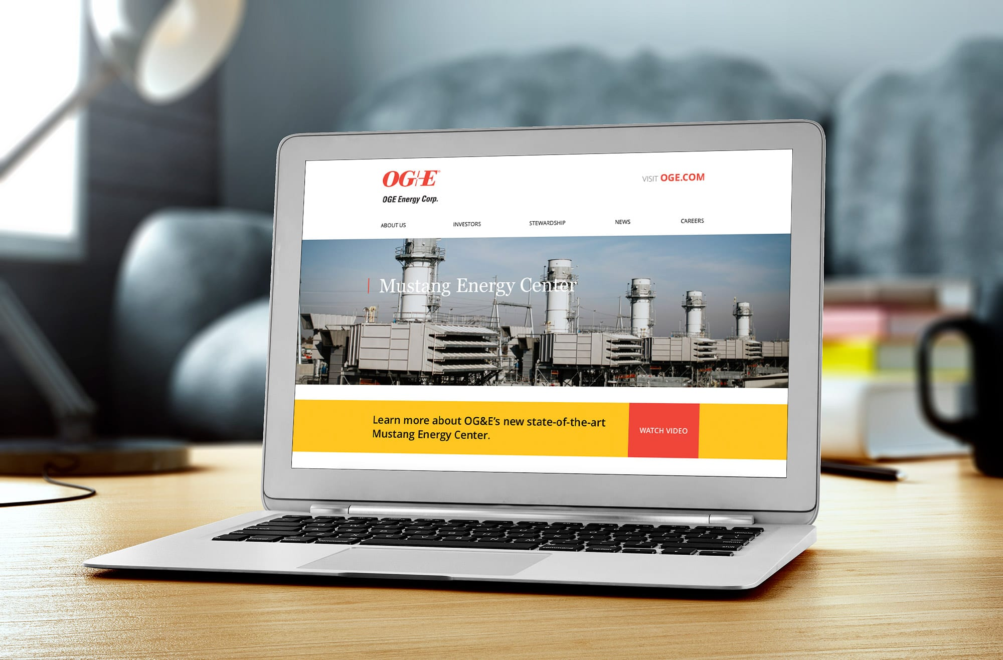 OGE Energy Website Development | Liquid Media