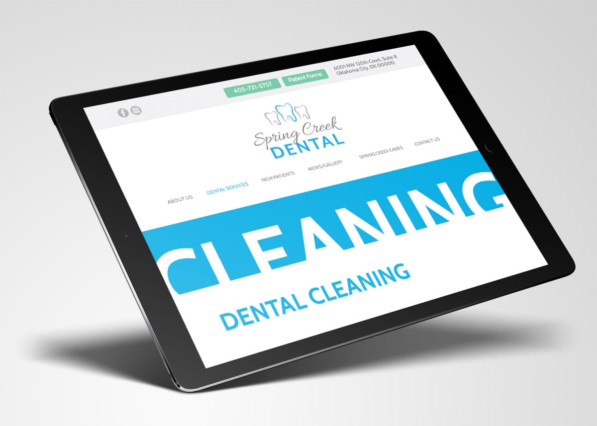 Spring Creek Dental | Website Design & Development