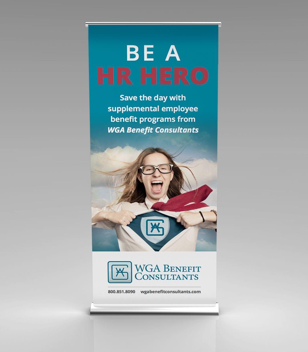 WGA Benefit Consultants Banner Design by Liquid Media