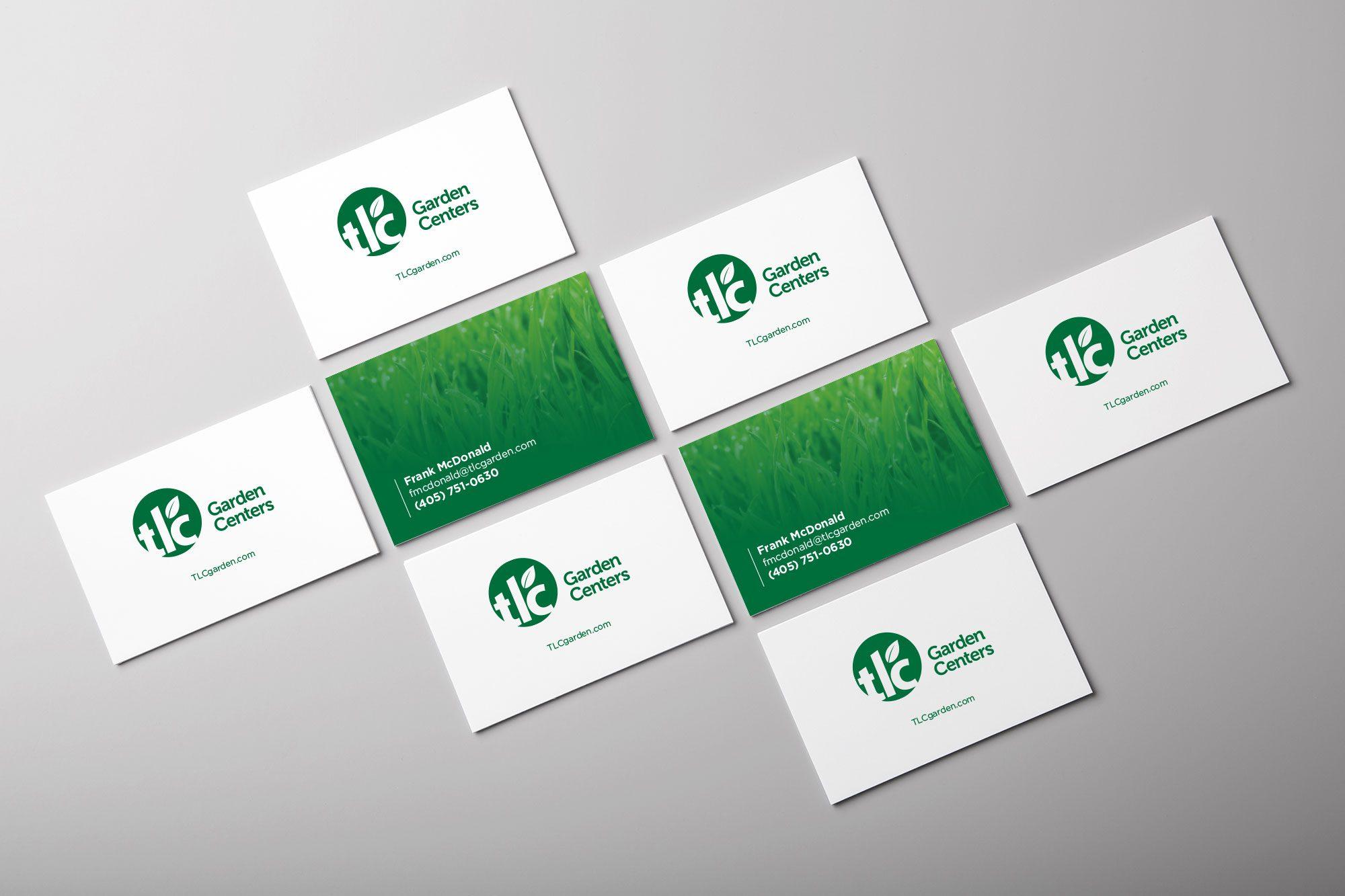 Logo Design Services   TLC Garden Centers   Liquid Media